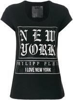 Philipp Plein New York printed T-shirt