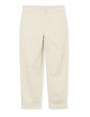 Meraki Amazon Brand Women's Slim Fit Cropped Chino Trouser
