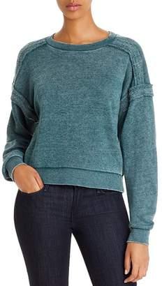 Vintage Havana Reverse-Seam Sweatshirt