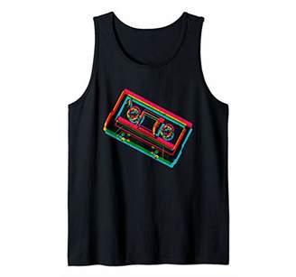 Vintage Retro Old School Hip Hop 80s 90s Gear Outfit Mixtape Tank Top
