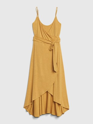 Gap Cami Wrap Midi Dress