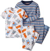 Carter's Graphic Footie (Baby) - Monster-6 Months