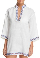 Tory Burch Embellished Tunic Swim Cover-Up