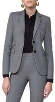 Akris Punto Women's Mini Houndstooth Jersey Blazer