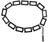 Michael Kors Geometric Chain-Link Belt