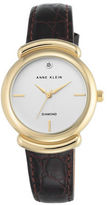 Anne Klein AK2358SVBN Round Watch