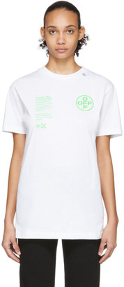 Off-White Off White White Arch Shapes T-Shirt