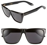 Givenchy Men's '7002/s' 58Mm Sunglasses - Shiny Black