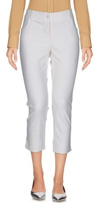 RAFFAELA D'ANGELO 3/4-length trousers