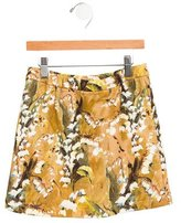 Dolce & Gabbana Girls' Abstract Print Skirt w/ Tags
