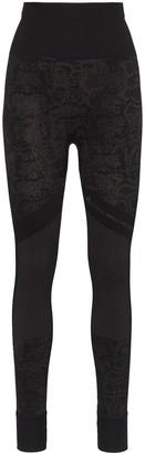 adidas by Stella McCartney Snake-Print Leggings