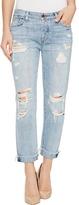 Lucky Brand Sienna Slim Boyfriend in Rainfall with Destruction Women's Jeans
