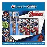 Oral-B and Crest Kid's HoliDay Pack Toothpaste, Marvel's Avengers (Pack of 6)