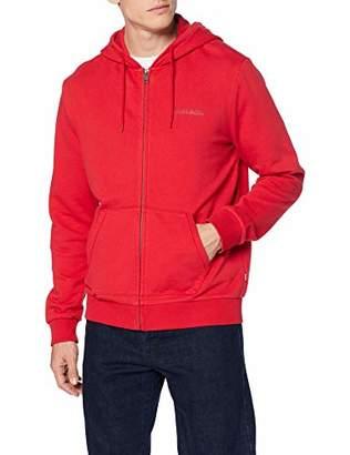 Napapijri Men's Bevora Fzh True Red Hoodie, R70, XX-Large