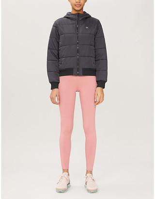Calvin Klein Logo-print padded shell jacket