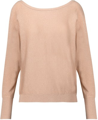 Velvet Jilly cotton and silk-blend cardigan