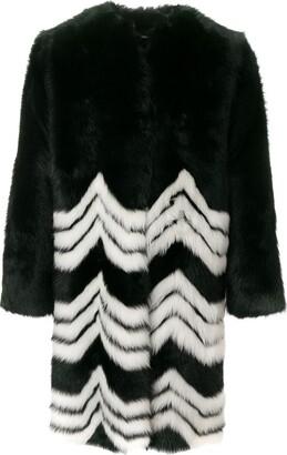 Givenchy Chevron Coat