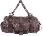 Thomas Wylde Embossed Leather Chain Bag
