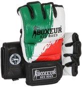 Italian Flag Leather Mma Gloves