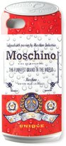 Moschino 'Drink Moschino' iPhone 5 case - unisex - PVC - One Size