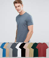 Asos T-Shirt With Crew Neck 10 Pack SAVE
