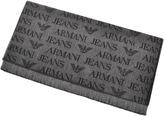Giorgio Armani Jeans Logo Scarf Grey