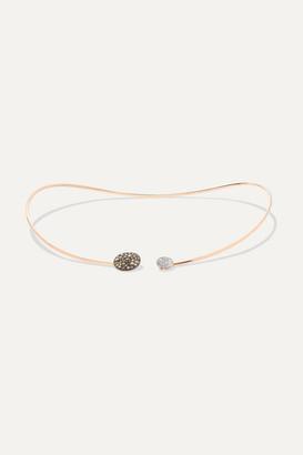 Pomellato Sabbia 18-karat Rose Gold Diamond Choker
