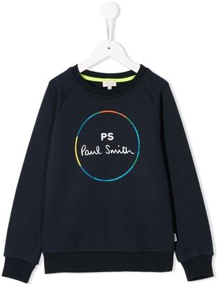 Paul Smith Printed Logo Sweatshirt