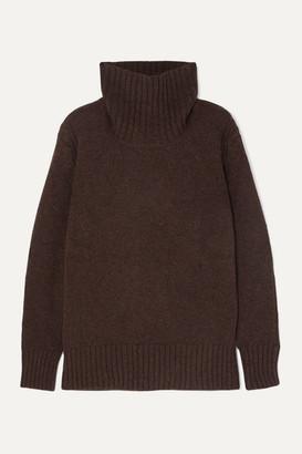 &Daughter Fintra Wool Turtleneck Sweater - Brown