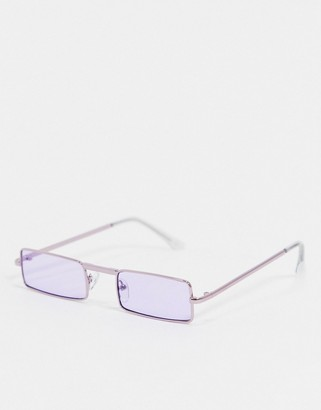 Jeepers Peepers lilac tint sunglasses
