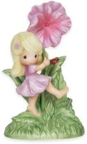 Precious Moments You are My Happiness Girl with Hibiscus Flower Figurine