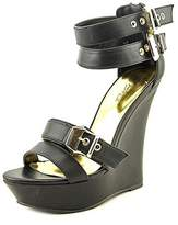 Thalia Sodi Elia Platform Wedge Sandals.