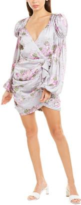 For Love & Lemons Jardin Floral Mini Dress