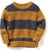 Old Navy Striped Rugby Pullover for Toddler
