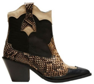 Selected Slfannie Snake Mix Boots - 40