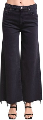 Mother Undercover Ankle Wide Leg Cotton Jeans