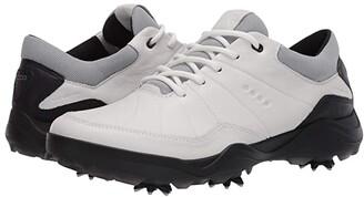 Ecco Golf Strike 2.0 (White) Men's Golf Shoes