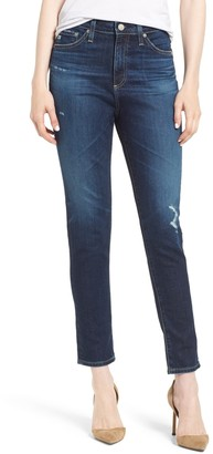 AG Jeans Sophia High Waist Ankle Skinny Jeans