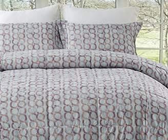 Natural Comfort MC210-RING-Parent Reversible Down Alternative Comforter