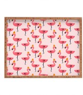 DENY Designs Allyson Johnson Flamingo Dance Party Tray