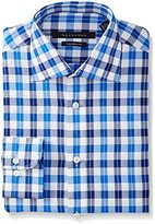 Sean John Men's Tailored Fit Exploded Check