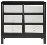 Homelegance Rumson Mirrored Storage Chest Black