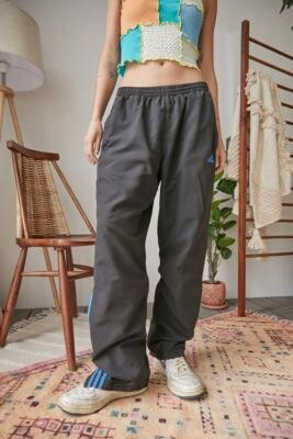 Urban Renewal Vintage Black Track Pants - Black S at Urban Outfitters