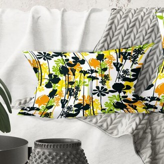 East Urban Home Summer Meadow Pattern Lumbar Pillow