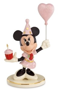 Lenox Birthday Cheer From Minnie Figurine