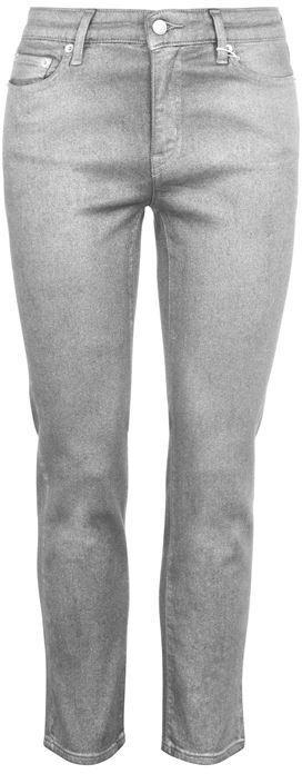 Thumbnail for your product : Lauren Ralph Lauren Straight Pewter Wash Jeans