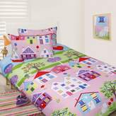 Happy Kids Lovely House Glow in the Dark Quilt Cover Set