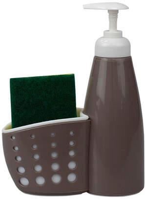 Hds Trading Soap Dispenser with Perforated Sponge Holder