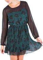 Jessica Simpson Jemmison Pleat Skirt Dress Juniors