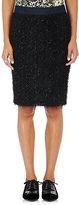 Roseanna Women's Pixie Fringed Skirt-BLACK